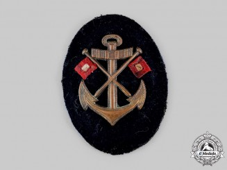 Germany, Kriegsmarine. An EM/NCO's Signals Specialist Insignia