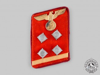 Germany, NSDAP. A Gau-Level Obergemeinschaftsleiter's Collar Tab