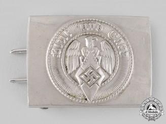 Germany, HJ. An EM/NCO's Belt Buckle by F.W. Assmannn & Söhne