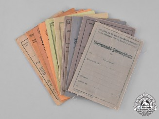 Germany. A Group of Second War Period Identity Documents