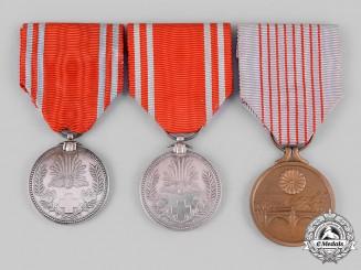 Japan, Empire. Three Awards & Decorations