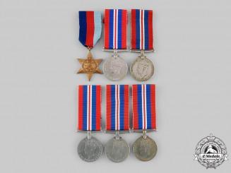 United Kingdom. A Lot of Six Second War Awards