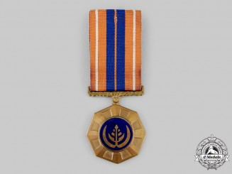 South Africa, Republic. A Pro Patria Medal, Numbered