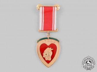 Honduras, Republic. A Medal of Honor, by N. S. Meyer c.1950