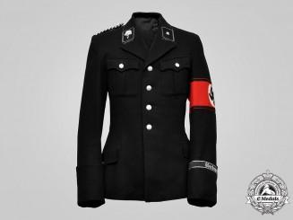 Germany, SS. A SS-Totenkopfverbände Unterscharführer Dress Tunic