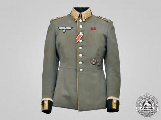Germany, Heer. A Cavalry/Reconnaissance Stabsfeldwebel Waffenrock