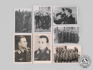 Germany, Wehrmacht. A Lot of Wehrmacht Photographs & Funeral Cards