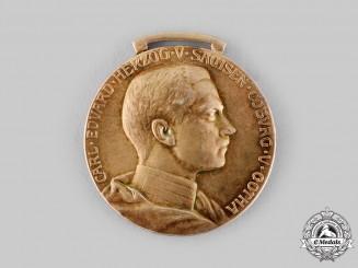Saxe-Coburg and Gotha, Duchy. A Saxe-Ernestine House Order Merit Medal