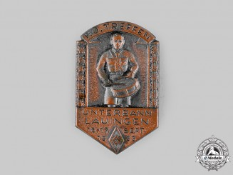 Germany, HJ. A 1933 Lauingen Meeting Badge