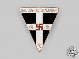 Germany, NSDAP. A National Socialist Women's League (NS-Frauenschaft) Membership Badge by Robert Beck