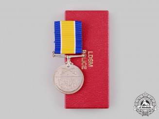 Sudan, Republic. A Police Long and Distinguished Service Medal