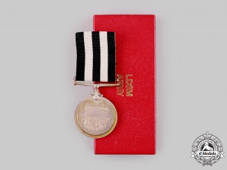 Sudan, Republic. An Army Long and Distinguished Service Medal