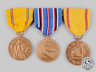 United States. Three Campaign Service Medals