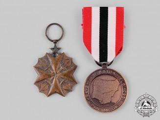 Congo, Democratic Republic; Nigeria, Federal Republic. Two Medals & Awards
