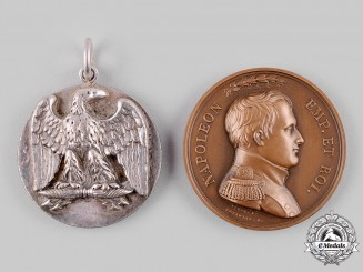 France, I Empire. Two Emperor Napoleon I Medals