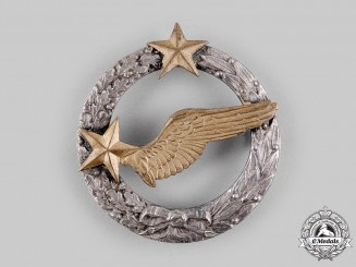France, III Republic. An Army of the Air Observer Qualification Badge