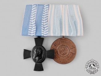 Bavaria, Kingdom. A Medal Bar