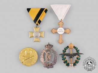 Austrian, Imperial. A Lot of Five Decorations & Badges (Collectors Copies)