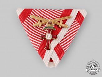 Austria, Empire. An Order of Franz Joseph War Decoration and Gold Swords