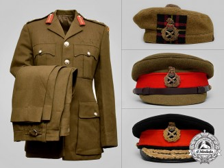 United Kingdom. The Uniform of General Sir Jeremy Mackenzie, GCB, OBE, DL