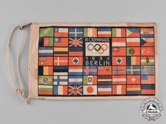 Germany, Third Reich. A 1936 Berlin Olympic Games Pennant
