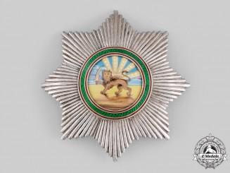 Iran, Pahlavi Empire. An Order of Homayoun, Grand Cross Star, c.1960