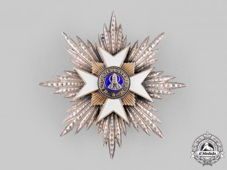 Vatican, Italian Unification. An Order of St. Sylvester, Grand Officer's Star, c.1950