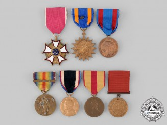 United States. Seven Awards & Campaign Medals