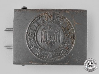 Germany, Heer. An EM/NCO's Belt Buckle, by Dr. Franke & Co.
