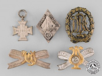Germany, Weimar Republic. A Lot of Badges
