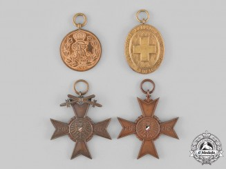 Germany, Weimar Republic. A lot of First War Veterans Commemorative Medals
