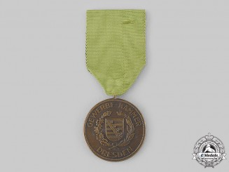 Saxony, Kingdom. A Dresden Chamber of Industry Merit Medal