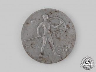 Germany, Weimar Republic. A Württemberg Youth Games Medallion