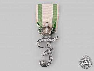 Anhalt-Köthen, Principality. A Rare Meritorious Service Award in Gold, State Officials, c.1890