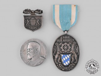 Bavaria, Kingdom. A Lot of Commemorative Badges