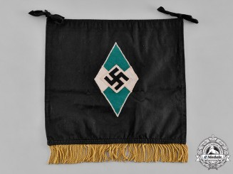 Germany, HJ. A HJ Trumpet Flag