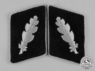 Germany, SS. A Set of Waffen-SS Standartenführer Collar Tabs, Third Version
