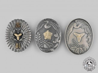 Japan, Empire. Three Badges & Insignia