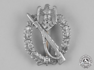 Germany, Wehrmacht. An Infantry Badge in Silver