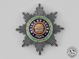 Austria, Imperial. An Iron Crown Order, I Class Star with 2nd Class War Decoration (Rothe Copy)
