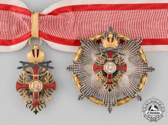 Austria, Imperial. An Order of Franz Joseph, Commander with War Decoration & Swords (Rothe Copy)