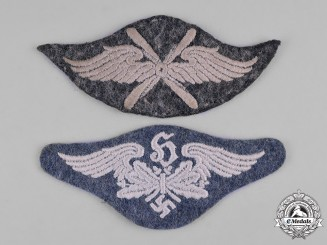 Germany, Luftwaffe. A Pair of Luftwaffe Specialist Arm Patches