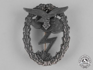 Germany, Luftwaffe. A Ground Assault Badge by Gustav Brehmer