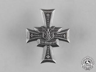 Germany, Heer. A Stalingrad Shoulder Board Cross for the 134th Grenadier Regiment