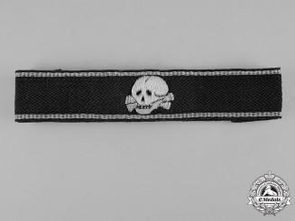 Germany, SS. A SS-Totenkopfverbände Wachtsturmbann Cuff Title