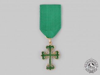 Portugal, Republic. A Military Order of St. Benedict of Avis, Knight