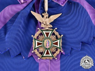 Mexico, II Empire. An Order of Guadalupe, Grand Cross for Civil Merit, c.1865