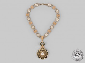 Algeria, Republic. A National Order of Merit, Dignity for the Chancellor of the Order, Amid Class Collar
