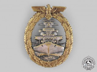 Germany, Kriegsmarine. A High Seas Fleet Badge, by Schwerin & Sohn