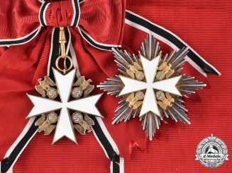 Germany, Third Reich. An Order of the German Eagle, Grand Cross Set, by Deschler & Sohn